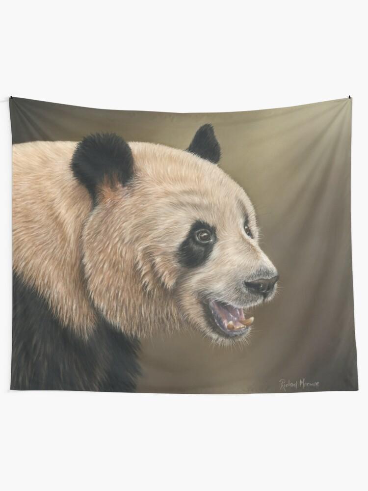 Alternate view of Giant Panda Tapestry