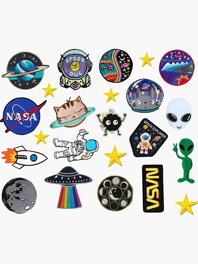 Space Exploration Alien Outer Space Galaxy Patch Inspired Pack by zoeyork