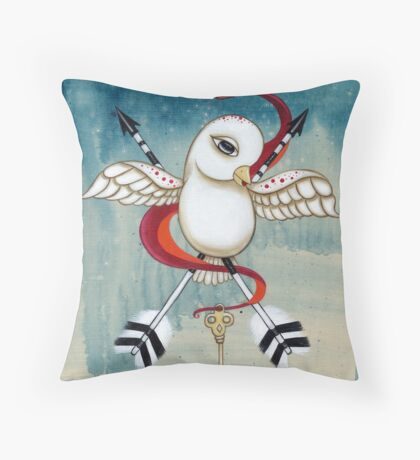 The Keybearer Throw Pillow