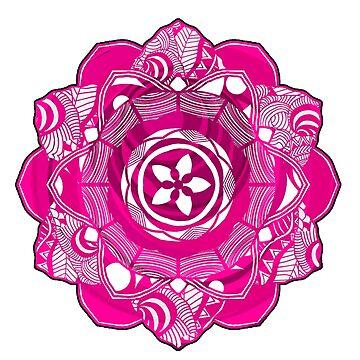 Pink Spirit Mandala by mayuskimbe