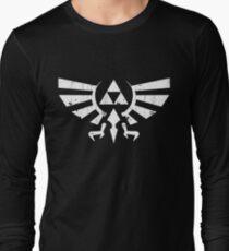 Triforce Crest - Legend of Zelda Long Sleeve T-Shirt