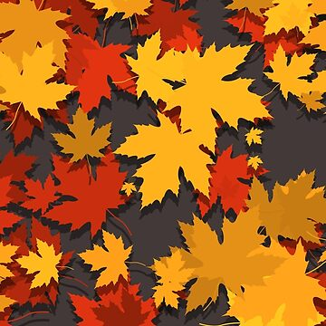 Colorful Leaves by Seemushk