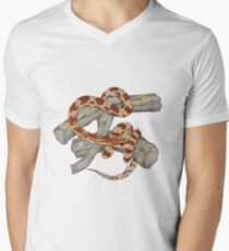 600ce0e04eb cornsnake Men s V-Neck T-Shirt
