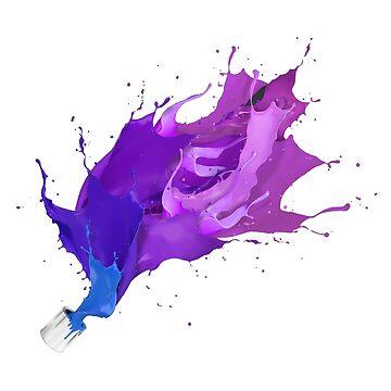 Paint Bucket Splash by Seemushk