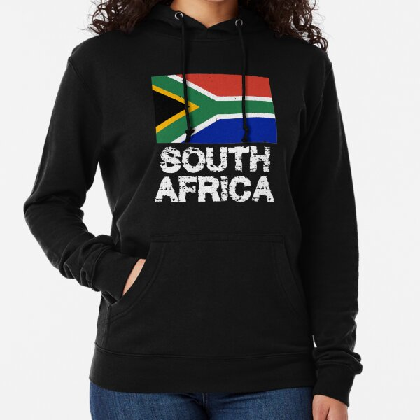 Proud to Be African American On World Map with American Flag Adult Hoodie