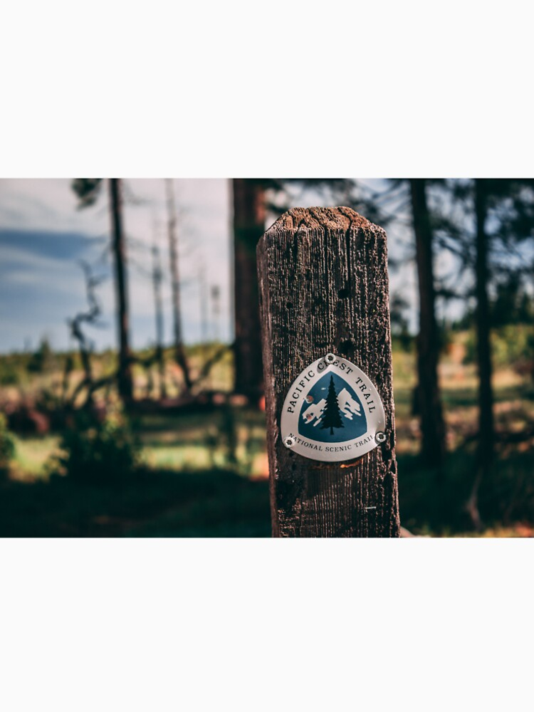 PCT Pacific Crest Trail sign by designfly