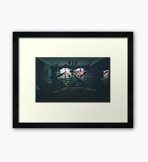 The Coup  Framed Print