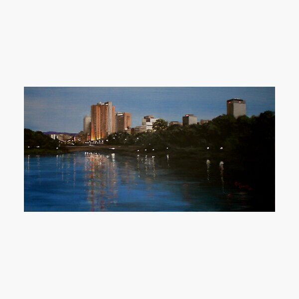 RIVER TORRENS ADELAIDE Photographic Print