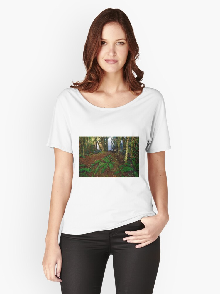 Rina Dina Falls, Walls of Jerusalem Women's Relaxed Fit T-Shirt Front