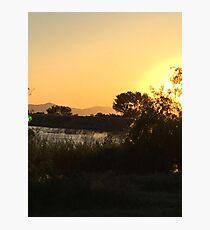 Tranquil sunset Photographic Print
