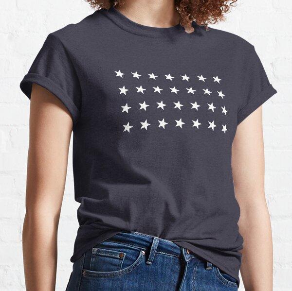 28-Star American Flag, Texas, Evry Heart Beats True Classic T-Shirt