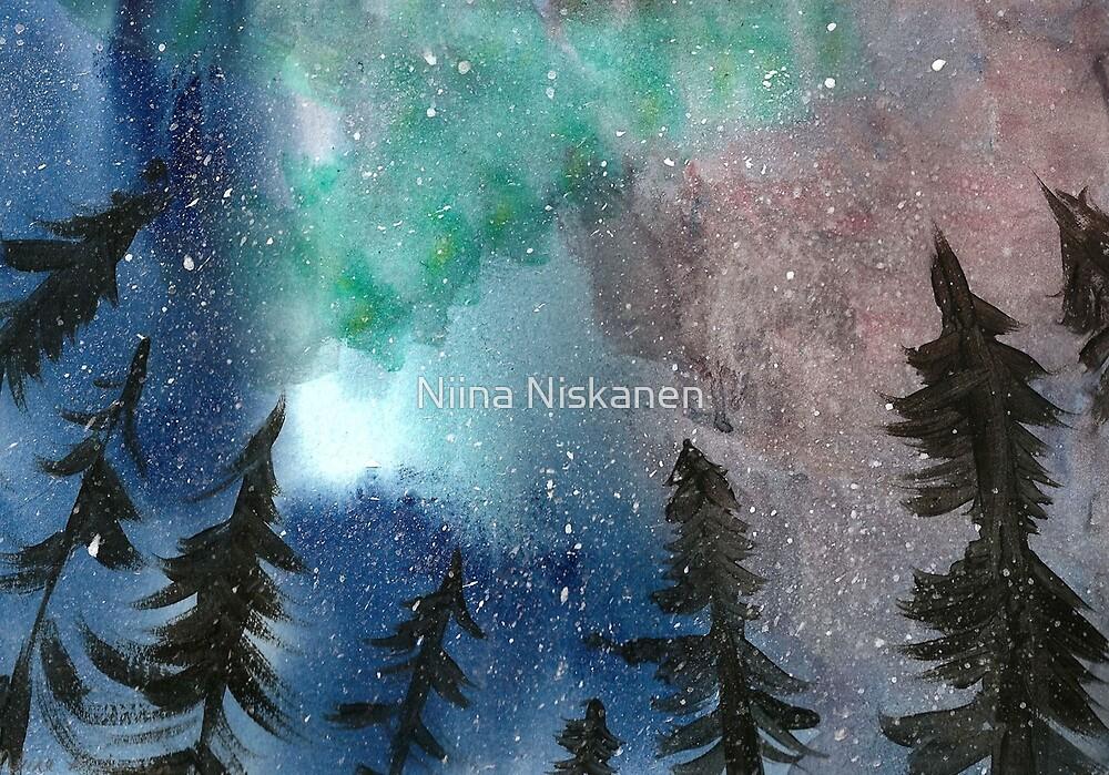 Northern Lights by Niina Niskanen
