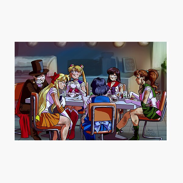Sailor Senshi Shawarma Special Photographic Print