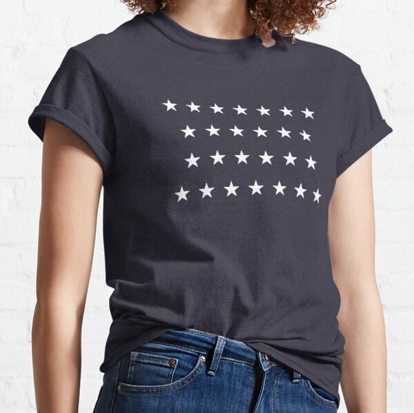 26-Star American Flag, Michigan, Evry Heart Beats True Classic T-Shirt