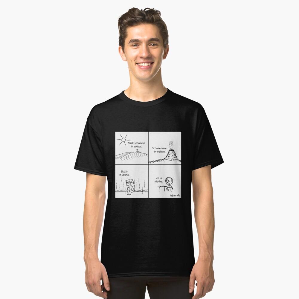 Fehl am Platz isfies-Comic Classic T-Shirt