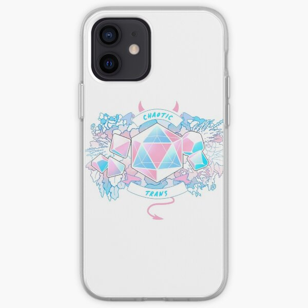 LGBT RPG - Chaotic Trans iPhone Soft Case