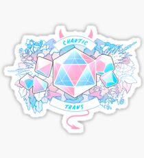 LGBT RPG - Chaotic Trans Sticker