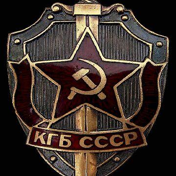 KGB Badge by ZeroAlphaActual