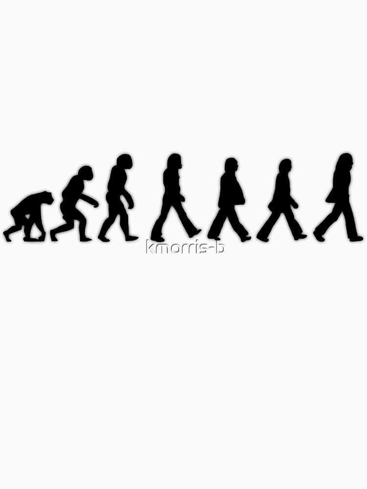 Human Evolution (The Beatles) | Unisex T-Shirt