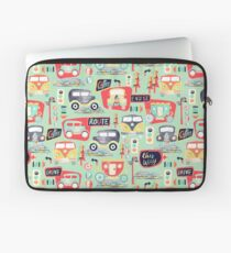 Travel Back in Time Laptop Sleeve