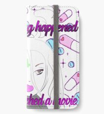 Nothing happened <3 iPhone Wallet/Case/Skin