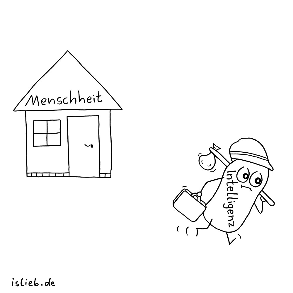 Bye islieb-Cartoon von islieb