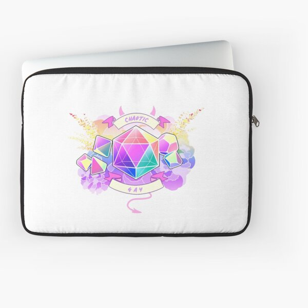 LGBT RPG - Chaotic Gay Laptop Sleeve
