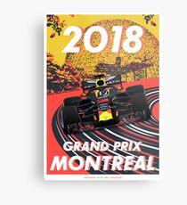 Montreal Grand Prix 2018 Metal Print