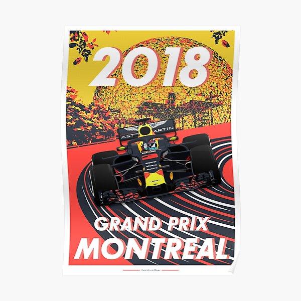 Grand Prix de Montréal 2018 Poster