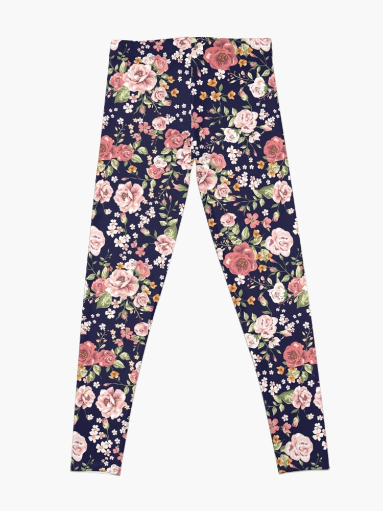 Alternative Ansicht von Blumen Leggings
