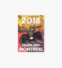 Montreal Grand Prix 2018 Art Board
