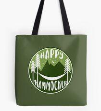 happy Hammocker - Green Night Sky Tote Bag