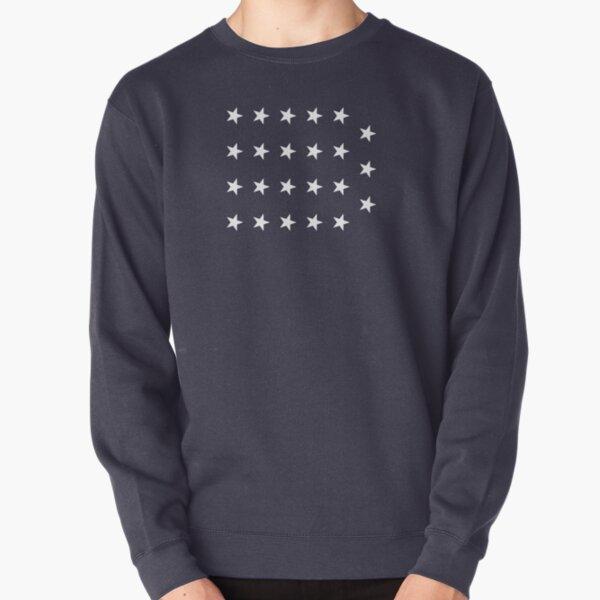 19-Star American Flag, Indiana, Evry Heart Beats True Pullover Sweatshirt