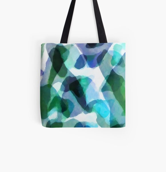 Soft Touch All Over Print Tote Bag