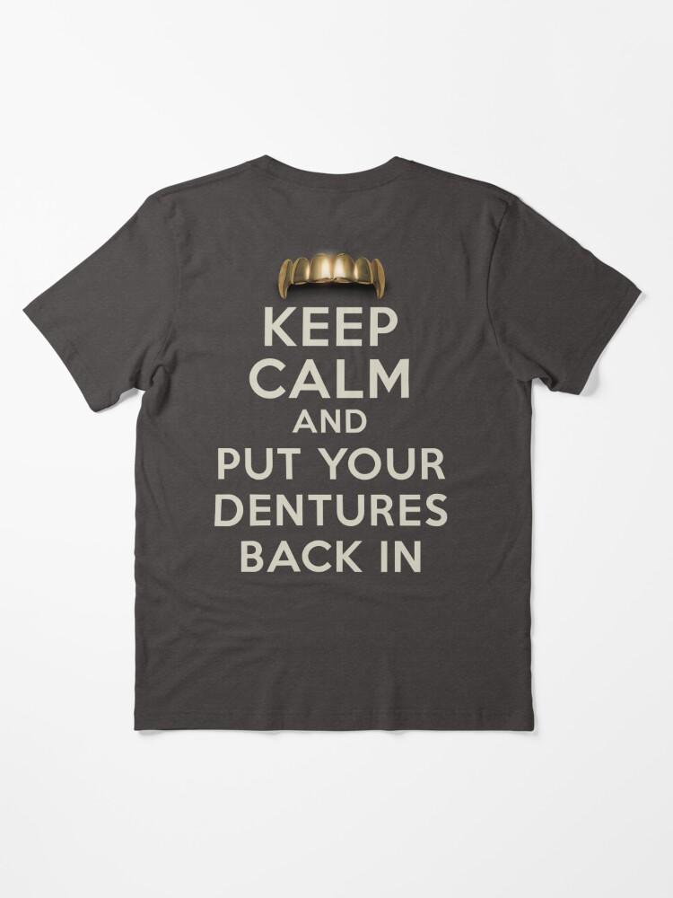 1Tee Homme dentiste Humour chocolat frapper Dents T-Shirt