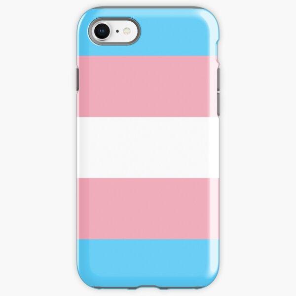 Transgender Pride Flag iPhone Tough Case