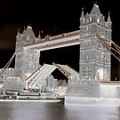 Tower Bridge Opening 2. by Marie Brown ©