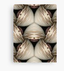 White Fungi altered image Canvas Print