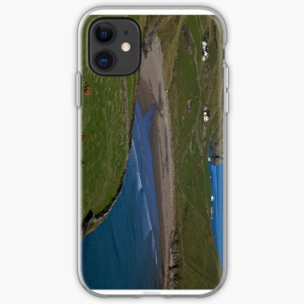 Traloar Beach, Muckross Head, Donegal iPhone Soft Case
