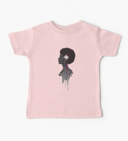 Flower Head Lady Kids Clothes
