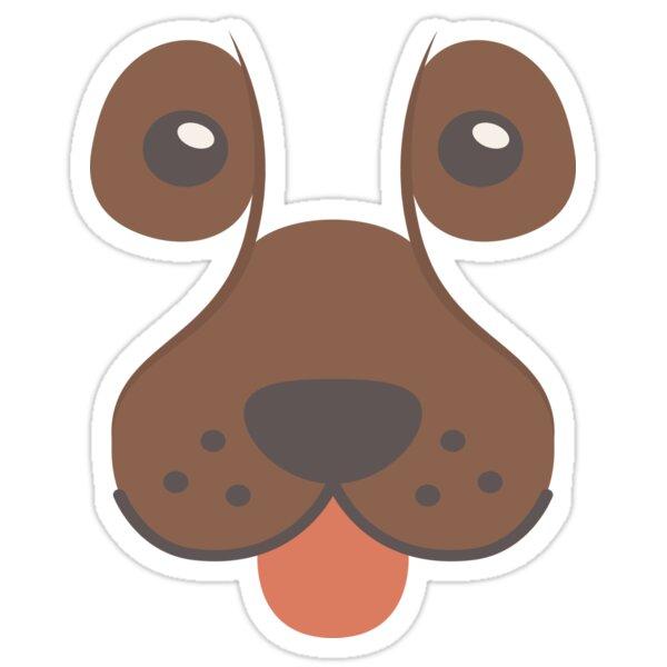 Dog Emoji Bloodhound