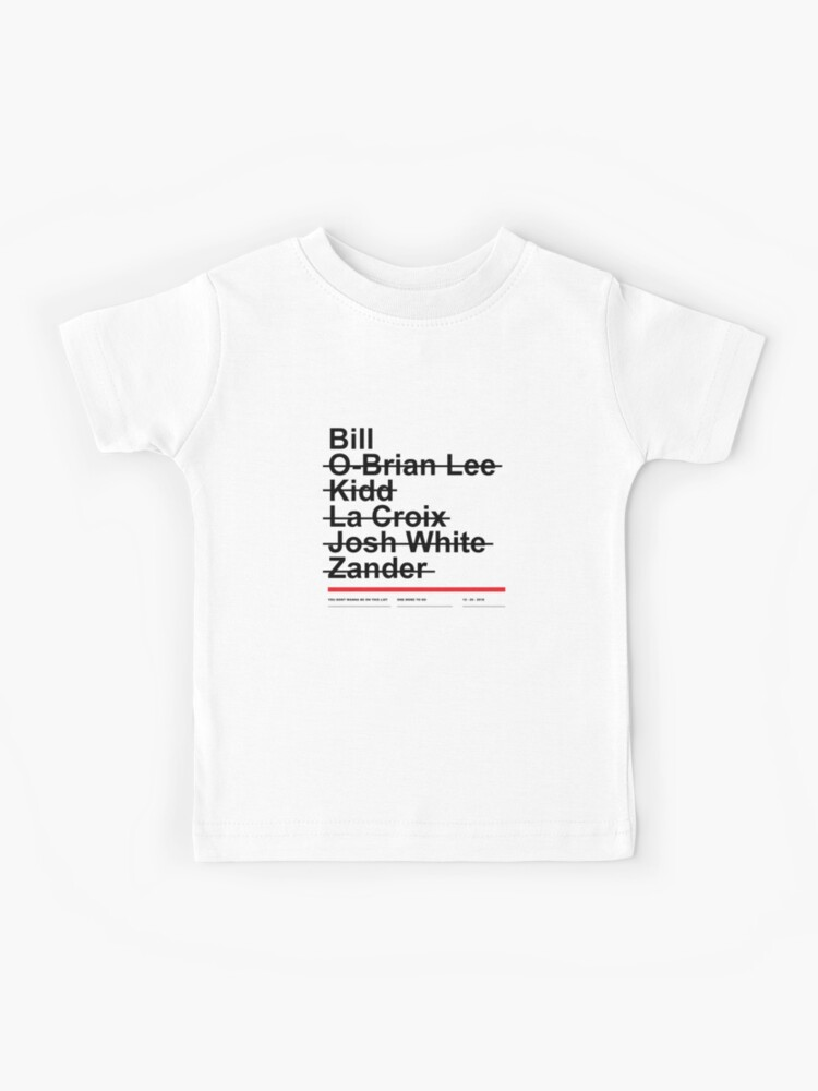 Hitman List Kids T Shirt By Evlar Redbubble