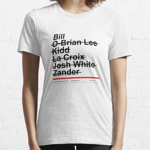 Hitman List Essential T-Shirt