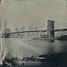 View From Brooklyn Bridge Park (Tintype) by Kevin Koepke