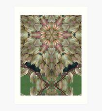 Yukka, altered image Art Print