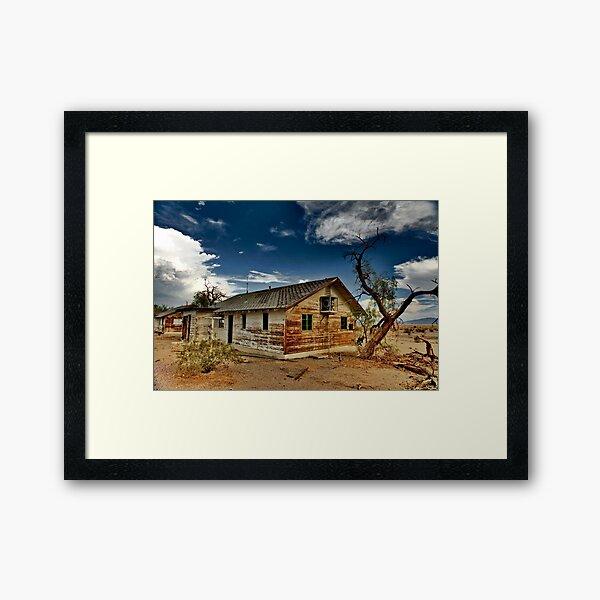 House For Sale View Lot Framed Art Print