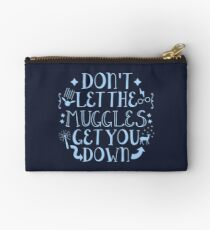 Book Quotes Muggles Studio Pouch