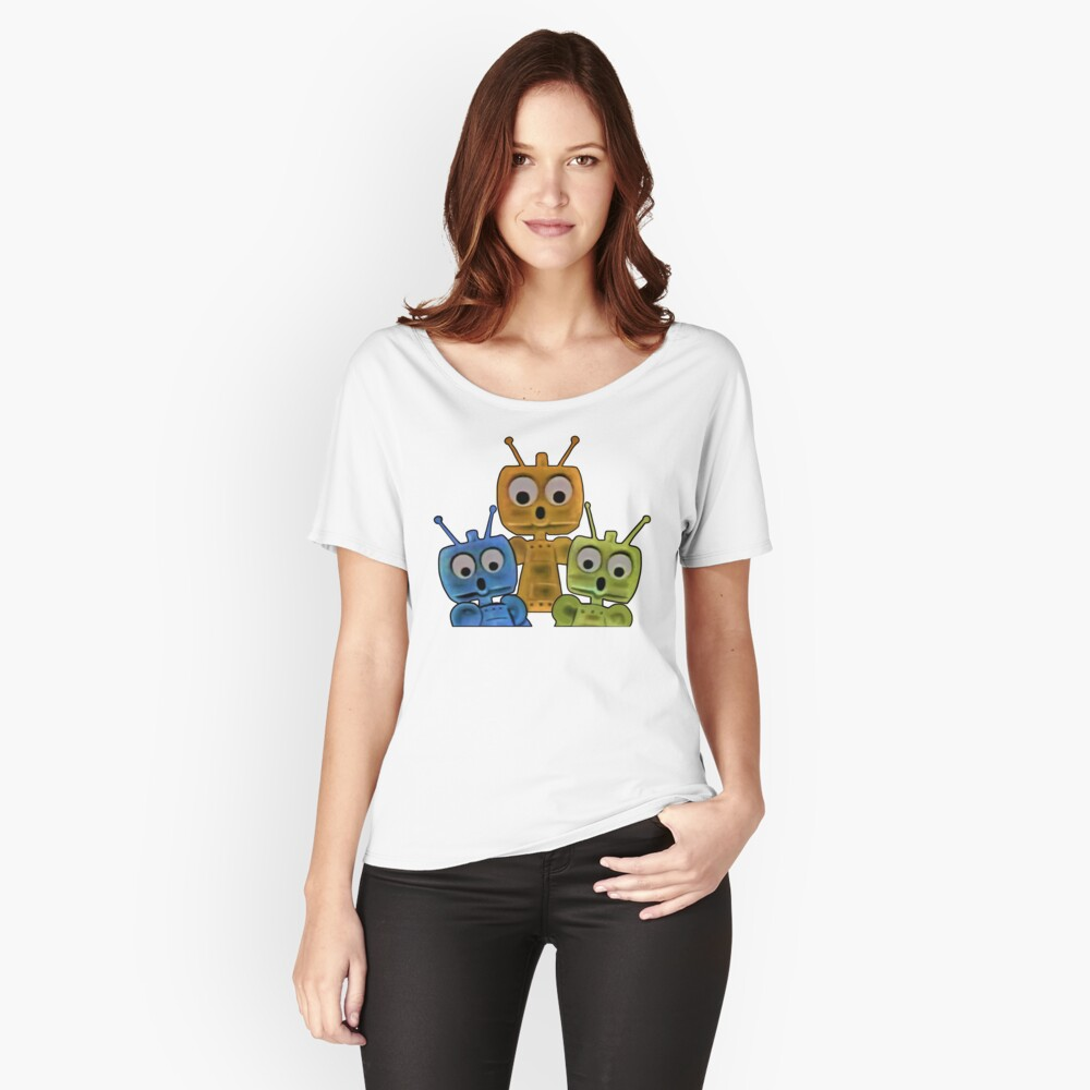 The Future Is All Robots ! Relaxed Fit T-Shirt