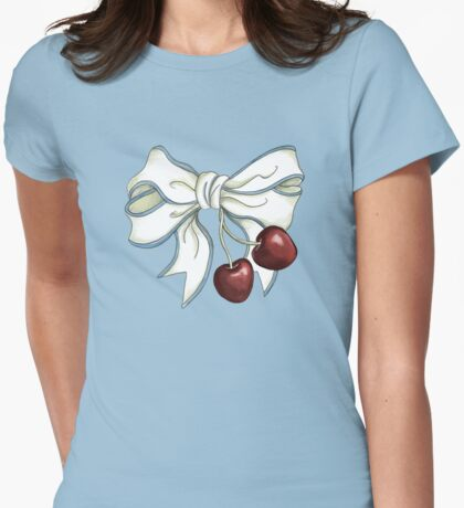 cherries-ribbon T-Shirt