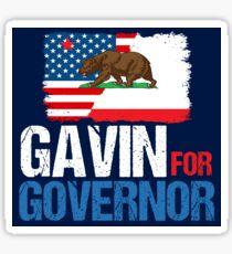 Pegatina Gavin para gobernador de California 2018